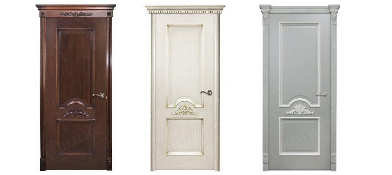 Двери Византия. Современная классика от компании Оникс.