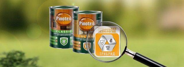 Простая и надежная защита деревянных конструкций - Pinotex ТРИБИД.