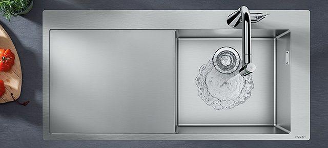 Нansgrohe - Мойка для кухни. Кто первый мыть посуду?