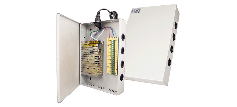 Источники питания для CCTV. Tantos БП-50 V.9 и БП-100 V.18 на 5 и 10 Ампер.