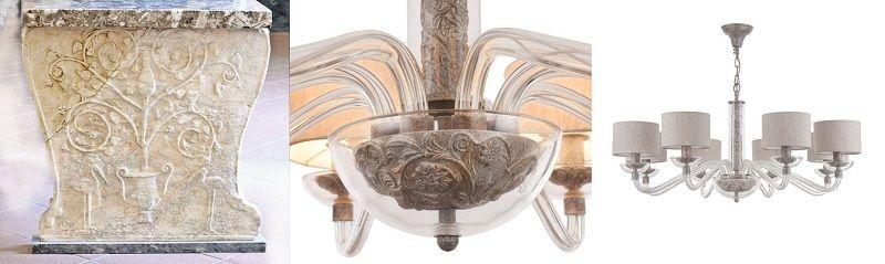 Дизайн светильника как зеркало истории искусств