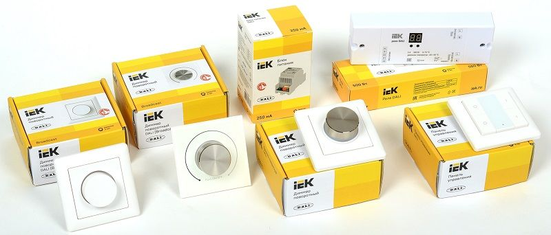 IEK система управления освещением dali. Еще больше возможностей для оптимизации освещения!