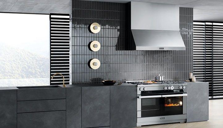Комбинированные кухонные плиты Miele Ranges.
