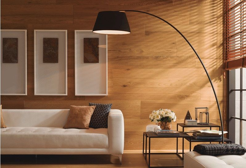 PORCELANOSA Grupo. Пять декоративных стилей для уникального интерьера гостиной.