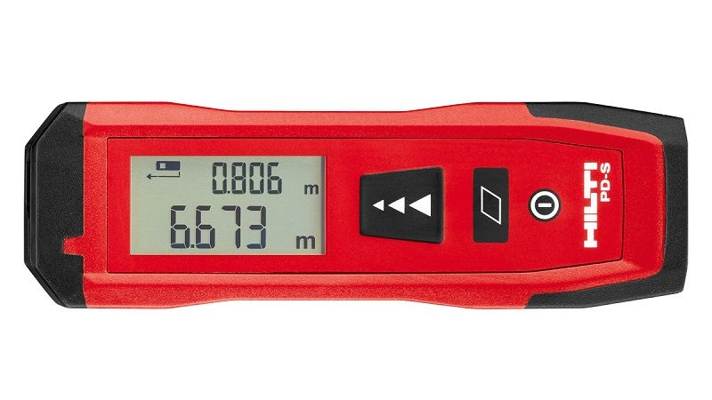 Дистанционный лазерный измеритель, лазерная рулетка Hilti PD-S.
