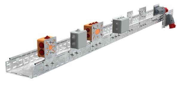 Монтажные пластины для листовых и лестничных лотков IEK - усиленная конструкция и экономичное решение