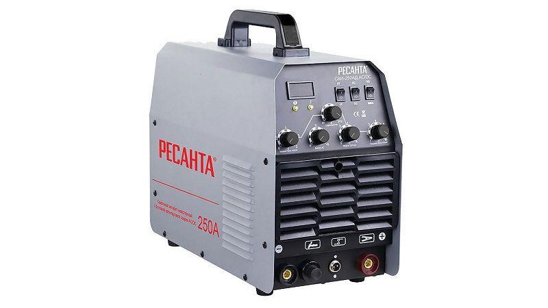 Сварочный аппарат Ресанта САИ-250АД AC/DC с функцией аргонодуговой сварки