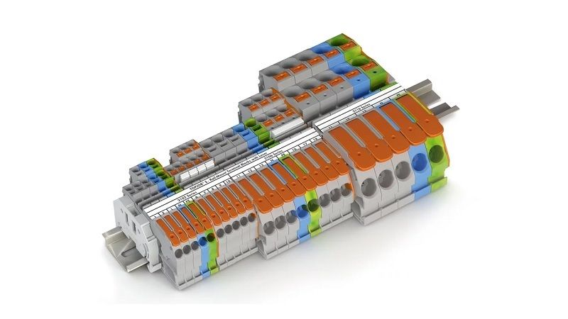 Клеммы на DIN-рейку TOPJOB® S с рычагом - простой и понятный способ подключения