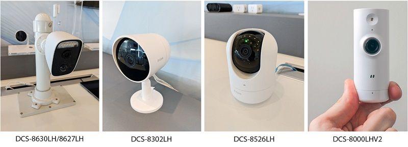 Компания D-Link представила новую линейку облачных камер c технологией AI для умного дома на CES 2020
