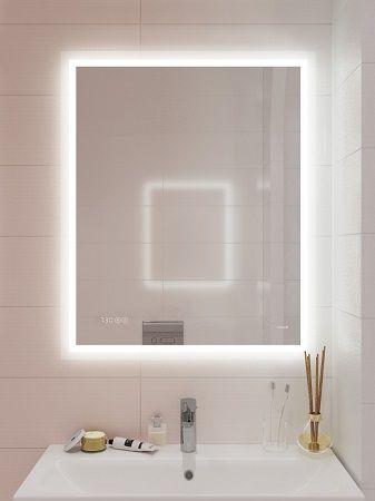 Зеркало с Led подсветкой для ванной CERSANIT.