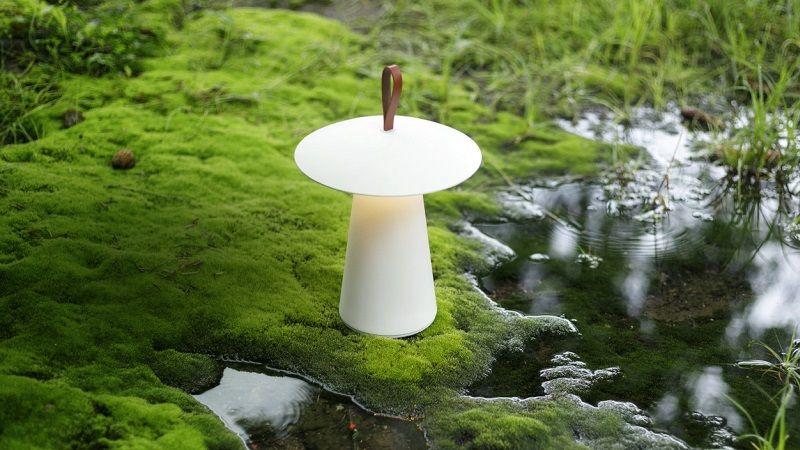 Компактная настольная лампа PATIO - природа света.