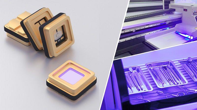 УФ светодиоды широкого спектра