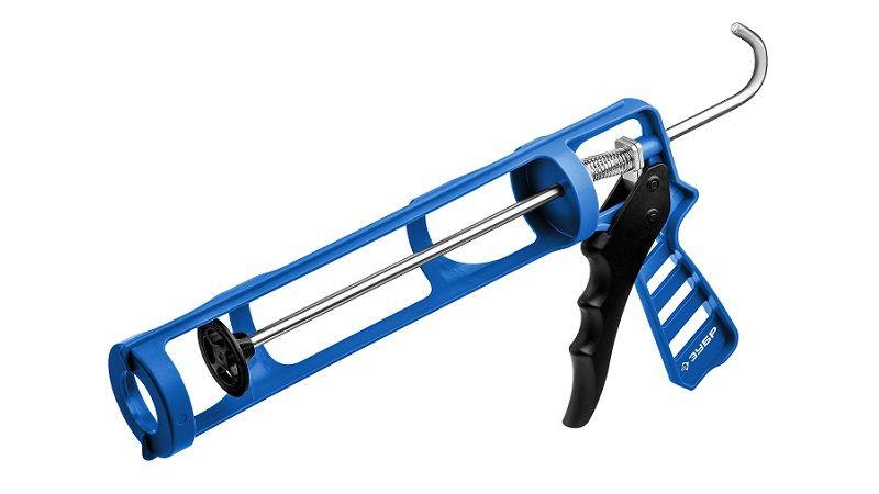 Скелетные пистолет для герметика Оса, антикапельная система, 310 мл серия «ПРОФЕССИОНАЛ»
