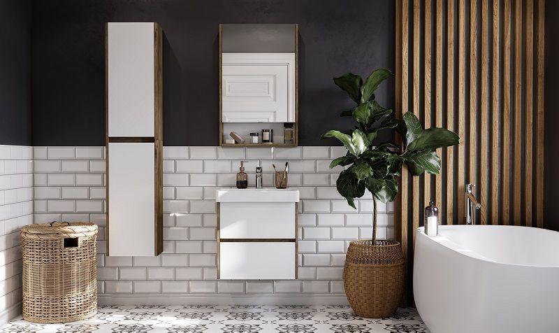 Комплект мебели для ванной комнаты AQUATON СКАНДИ