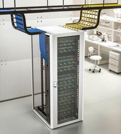 Новый сетевой шкаф Rittal TX CableNet