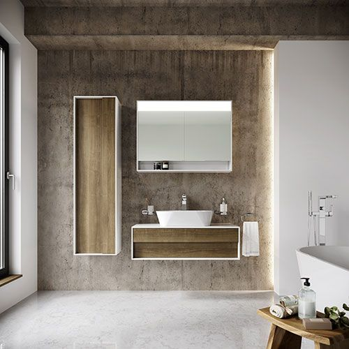 Мебель STEP – первый шаг на пути к созданию органичной ванной комнаты