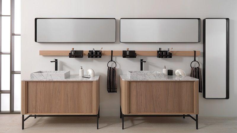 Как спланировать ванную комнату для двоих