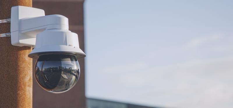 Axis представляет высокоскоростную PTZ-камеру AXIS Q6315-LE с лазерной фокусировкой