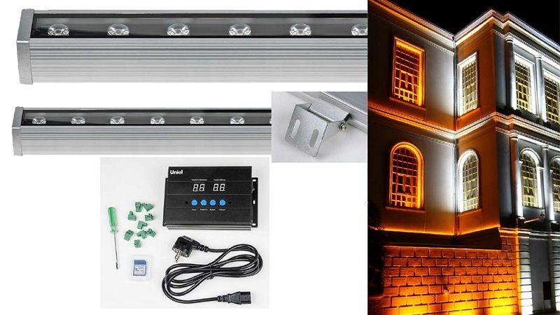 Линейные прожекторы светодиодные (wallwasher) ULF-L52