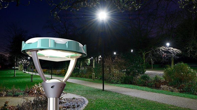 Светильники ФОКУС КОРОНА в садово-парковом исполнении