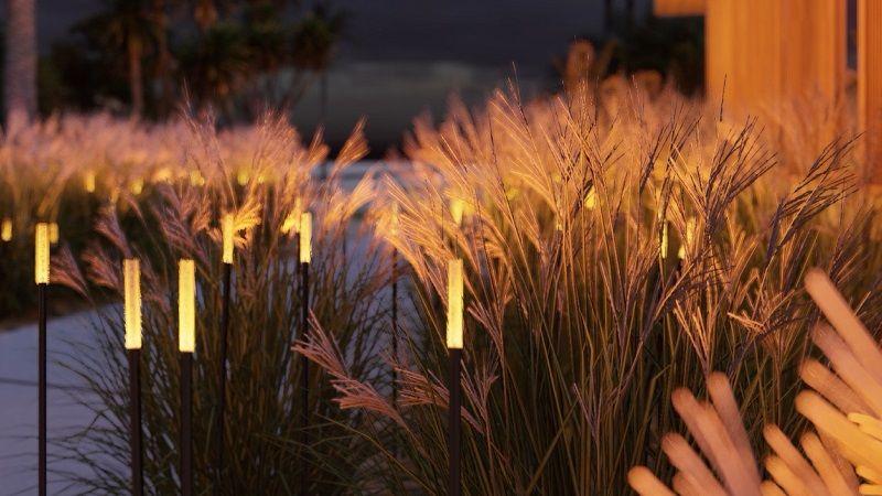 Ландшафтные светильники CHAMPAGNE/CANNA — магия света.