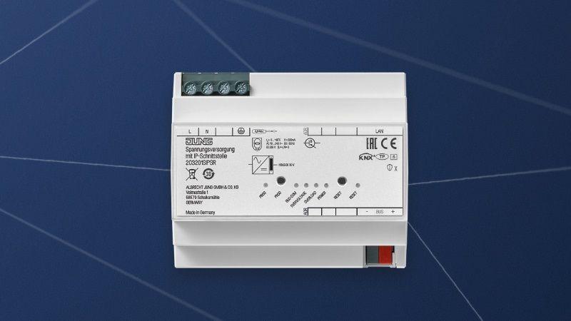 Новый блок питания KNX с IP-интерфейсом