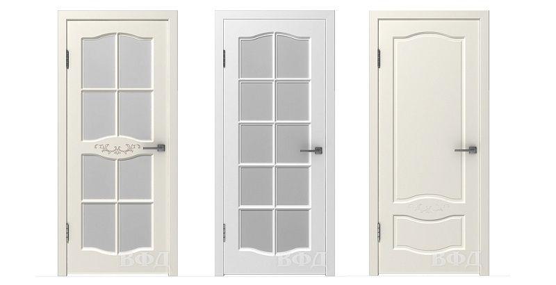 Прованс, как стиль жизни! Эмалированные двери с элементами патины в коллекции ВФД Прованс.