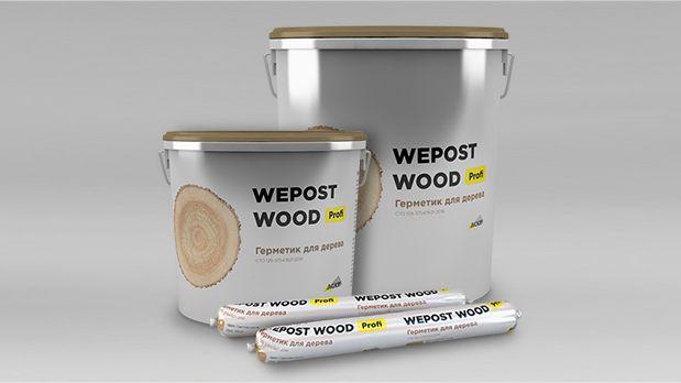 """""""САЗИ"""" Wepost wood profi - Герметик для деревянных домов."""