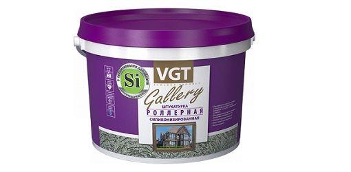 Декоративная штукатурка - VGT «Роллерная».