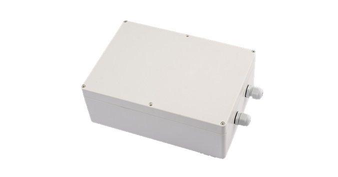 Световые технологии - боксы IP65 для размещения блоков аварийного питания.