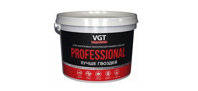 VGT PROFESSIONAL. Универсальный акриловый клей.