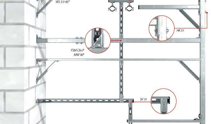 Fischer представил новую монтажную систему для инженерных систем.