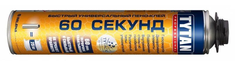 TYTAN 60 Секунд Быстрый Универсальный Пено-Клей.
