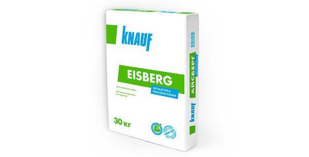 Knauf Eisberg - Новая штукатурка – штукатурка для новых стен!
