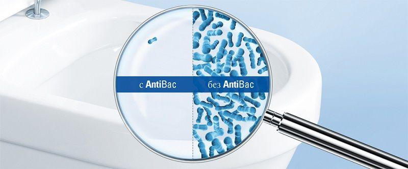 Villeroy & Boch AntiBac – Инновационное покрытие для унитазов.