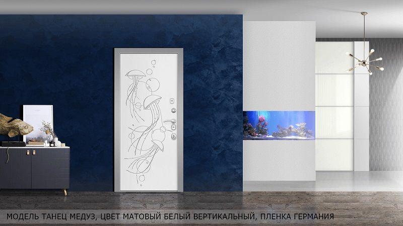 Металлические двери Эльбор - Морские глубины и Энигма.