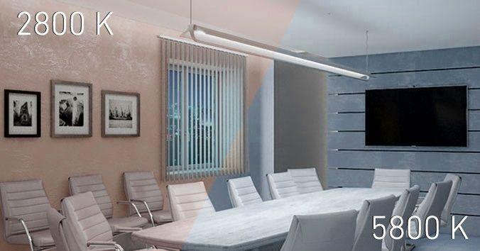 REFLECT LED CH CF – Светодиодные светильники с изменяющейся цветовой температурой.
