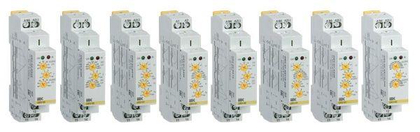 IEK Реле контроля параметров сети. Реле контроля фаз, тока и напряжения.