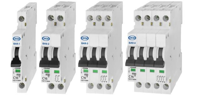 Меандр – Миниатюрные автоматические выключатели ВА9.