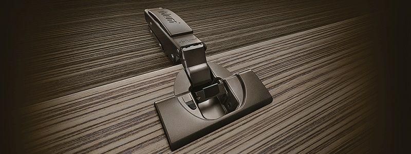 Blum Clip Top Blumotion - Мебельные петли черный оникс.