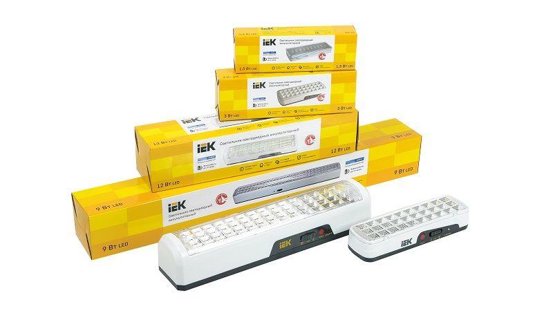 Переносные аккумуляторные светильники ДБА IEK - до 15 часов работы.
