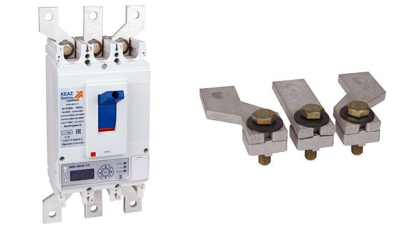 Расширители полюсов для автоматических выключателей OptiMat D400 и D630.