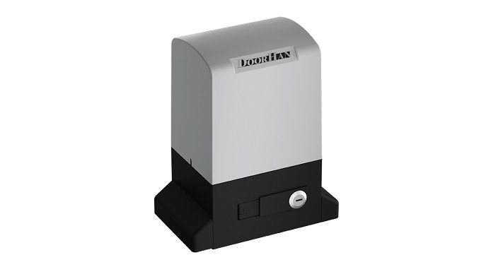 DoorHan SLIDING-500-24V: привод для сдвижных ворот с высокой интенсивностью работы.