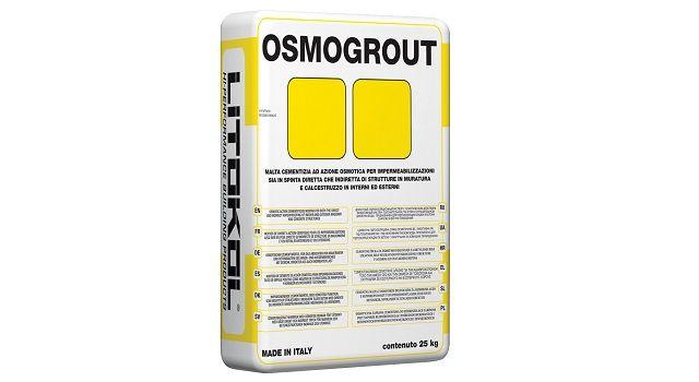 Litokol OSMOGROUT. Новинка в линейке гидроизоляционных составов.