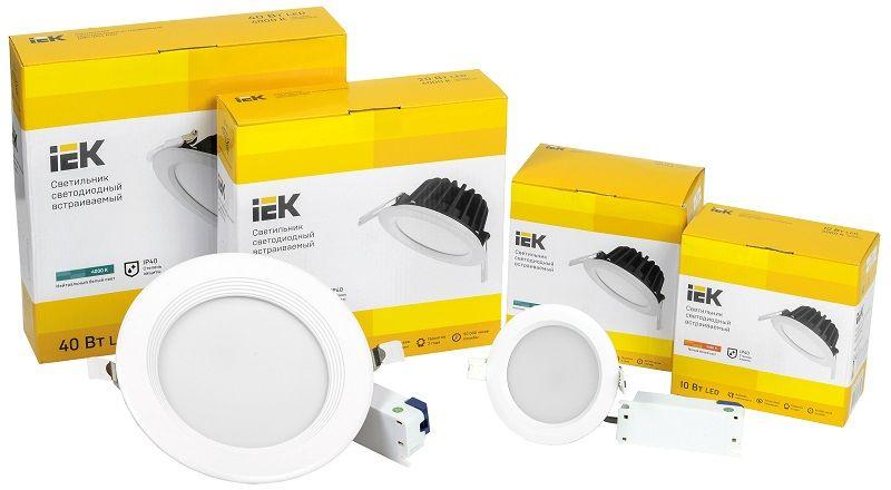Новая серия даунлайтов ДВО PRO IEK® - повышенная надежность и рекордная эффективность.
