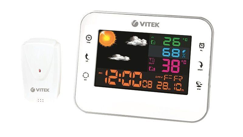Беспроводная метеостанция VT-6412 от VITEK.