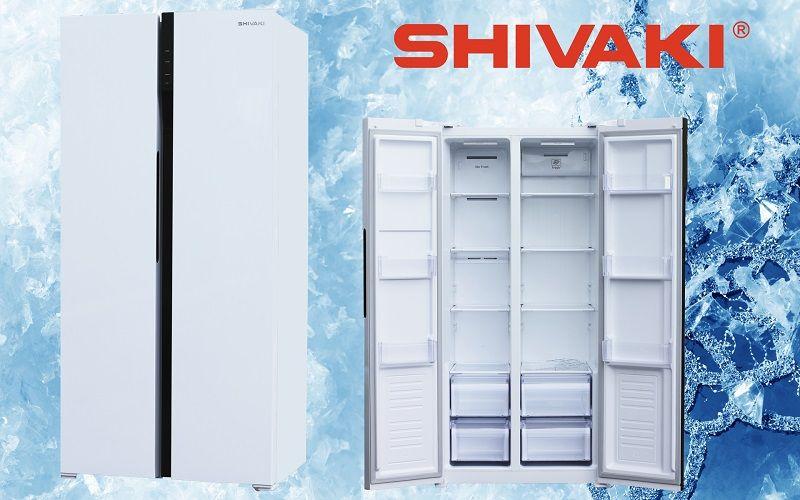 Специальные технологии в холодильнике Shivaki SIDE-by-SIDE.