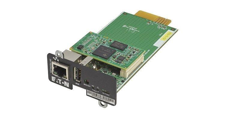 Eaton представляет Gigabit Network M2 – первую сетевую карту для ИБП, прошедшую сертификацию UL.