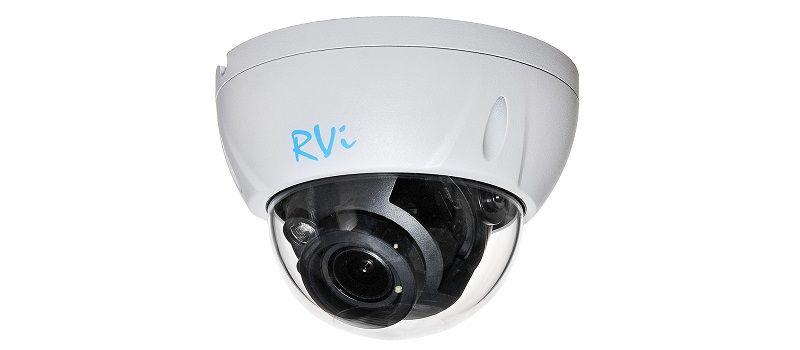 Антивандальная интеллектуальная IP-камера видеонаблюдения RVi-1NCD2063 (2.7-13.5).