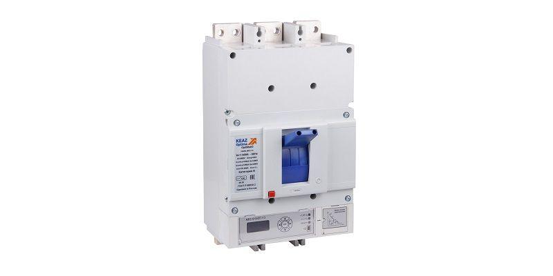 Автоматические выключатели в литом корпусе на токи от 400А до 1600А.